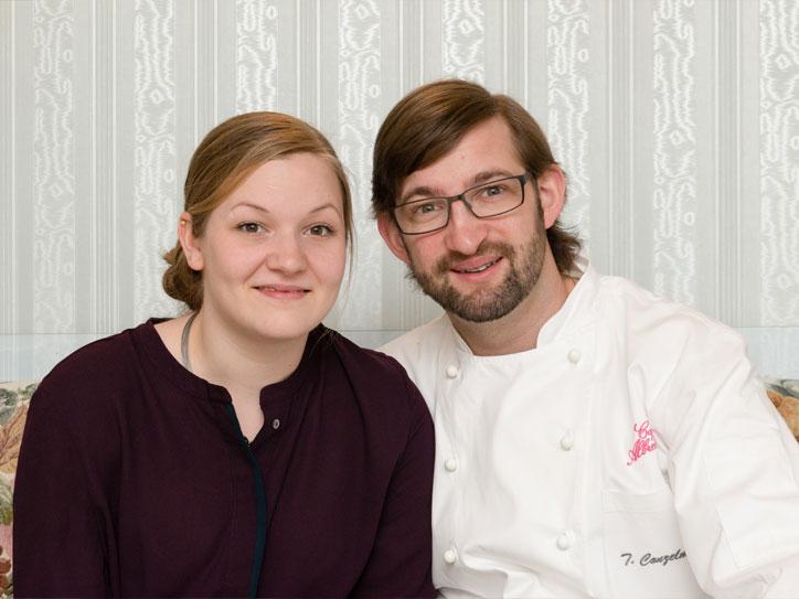 Konditorei Cafe Albrecht Waldshut-Tiengen Julia Wrona und Timo Conzelmann